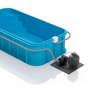 Поліпропіленовий пластиковий басейн